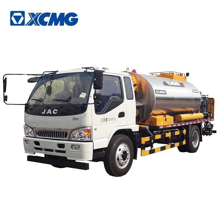 XCMG official manufacturer intelligent asphalt distributor truck asphalt equipment XLS603 price