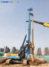 XCMG 160kn Small Multi-energy Hydraulic Rotary Drilling Rig Machine XR160E price