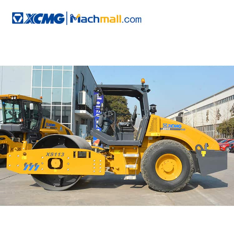 XCMG official 10 ton mini vibratory road roller XS113 for sale