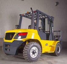XCMG official 5 ton diesel forklift FD50T for sale