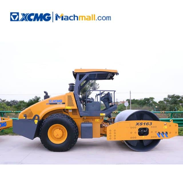 XCMG XS163 16ton single drum road roller for sale