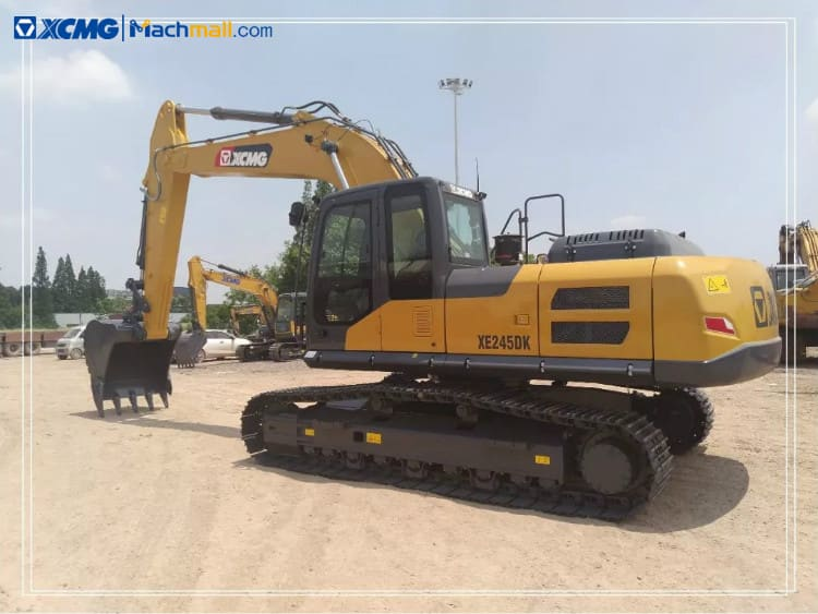 XCMG Offical 25t Crawler Excavator Machine XE245DK On Sale