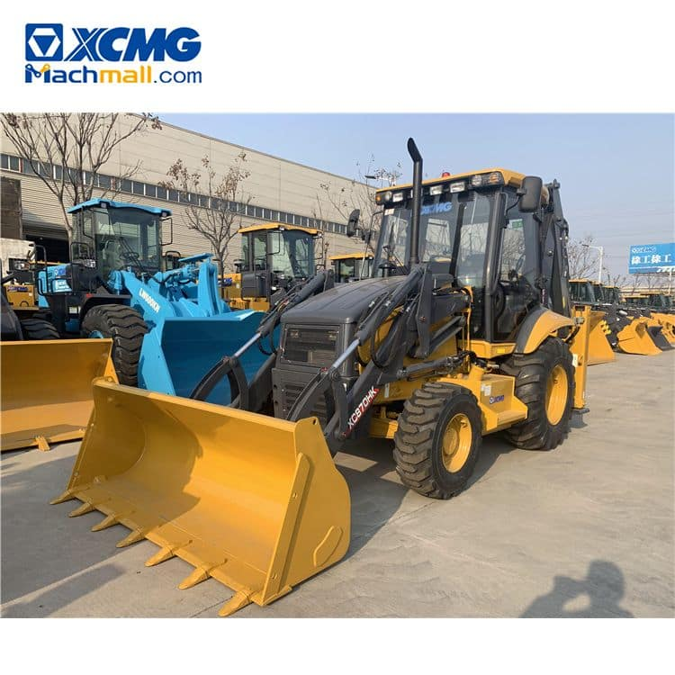 XCMG Manufacturer XC870HK 2.5 ton Small Towable Backhoe With Pdf catalog