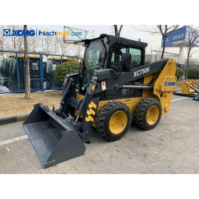 Skid-steer loader for sale | China small skid steer loader XC750K price