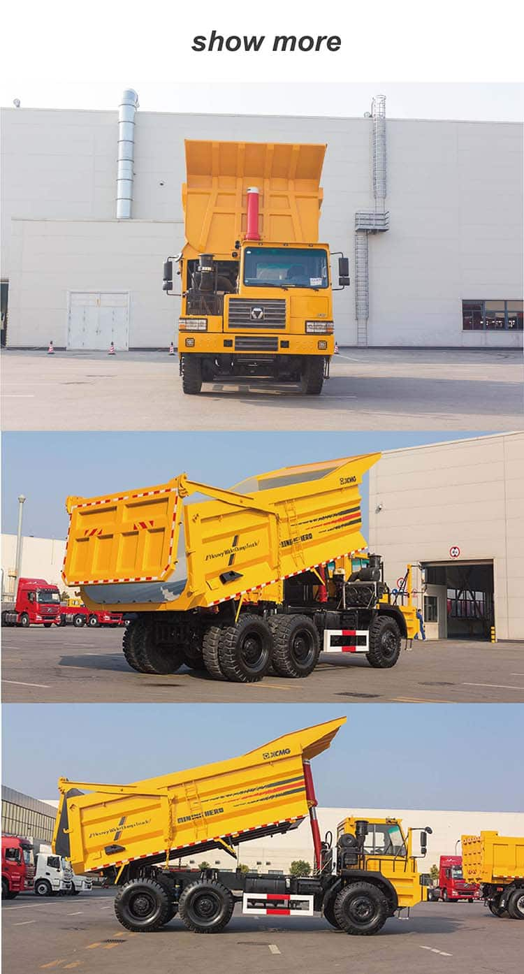 XCMG Official NXG5650DT 60 ton 6x4 off-road mining mine dump truck price for sale