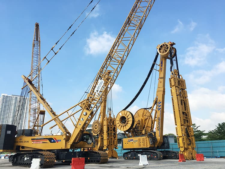 XCMG Official XTC80/60M Diaphragm Wall Grab Trench Cutter for sale