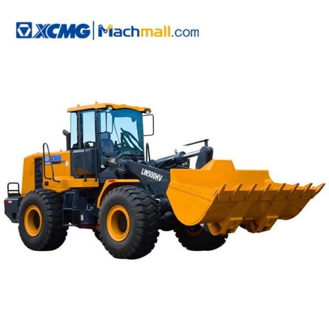 XCMG Official LW500HV 5 ton Bucket Wheel Loader for Sale Philippines