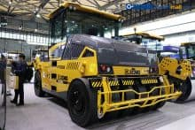 XCMG 36 ton large tyre road roller XP365KS for sale