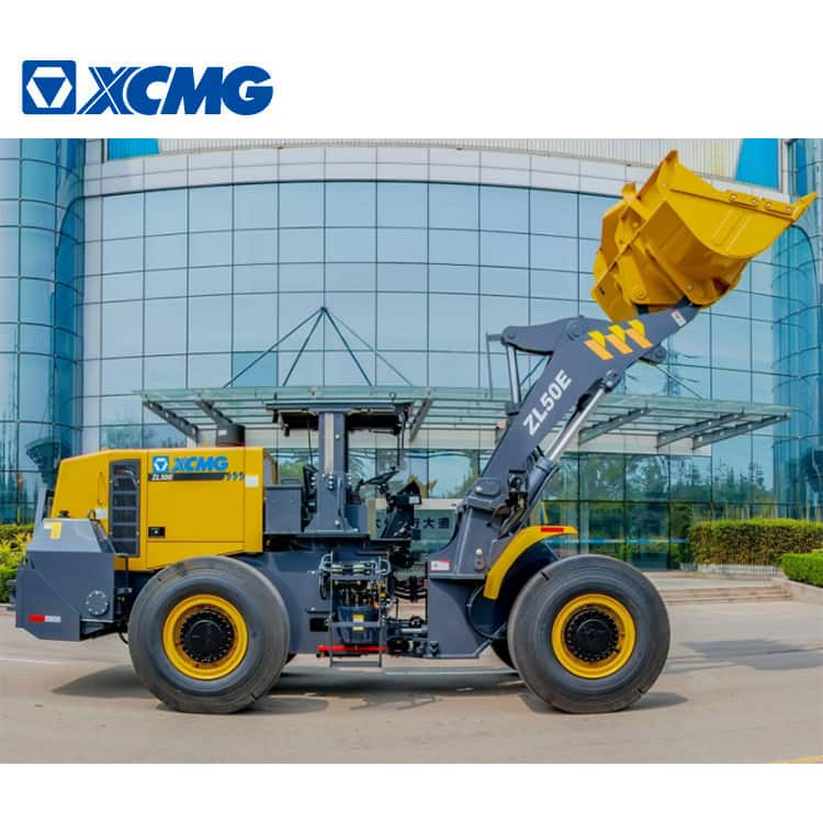 XCMG Mine Loaders ZL50E 5 Ton Underground Mining Wheel Loader with 2.5m3 Bucket