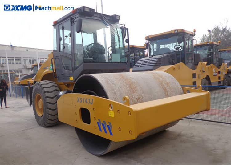 XS143J road roller for sale | XCMG XS143J vibratory road roller 14 ton price