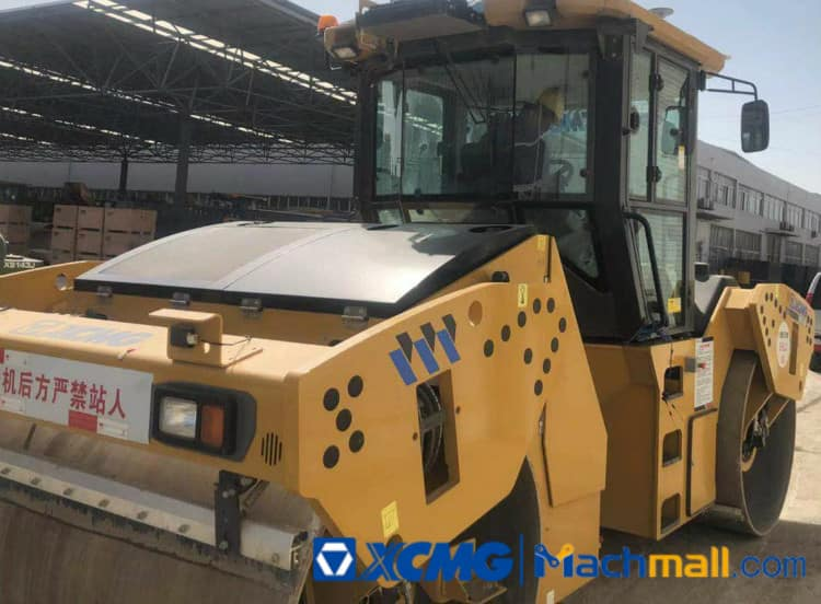 XCMG 13 Ton XD133S Used Double Drum Road Roller For Sale