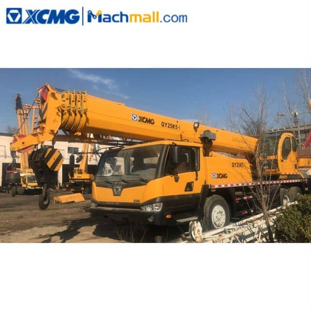 XCMG 25 Ton QY25K5-Ⅰ Used Truck Crane Machine For Sale