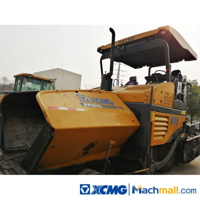 XCMG Factory 6m Used Road Paver Machine RP603L For Sale