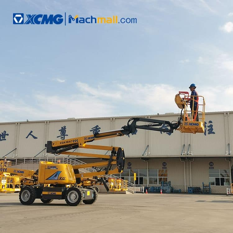 XCMG 16 ton articulated lift platform XGA16AC with PDF catalog price