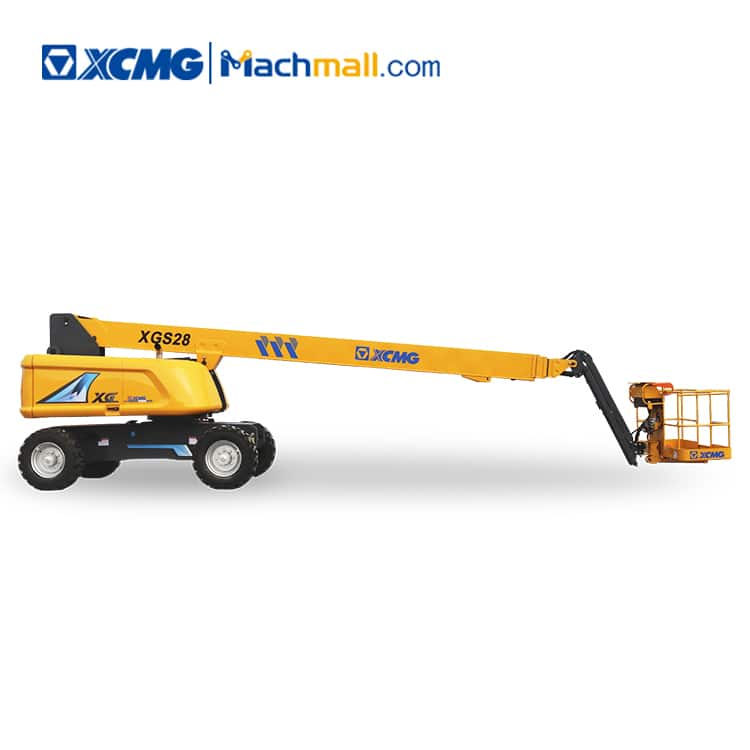 XCMG manufacturer 28m telescopic lift platform XGS28 with pdf price