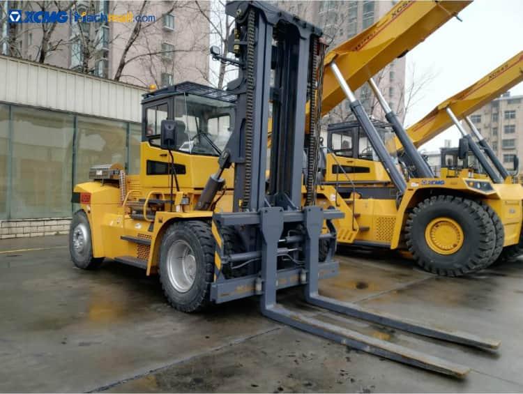 35 Ton XCMG Forklift XCF3512K Port Equipment Price