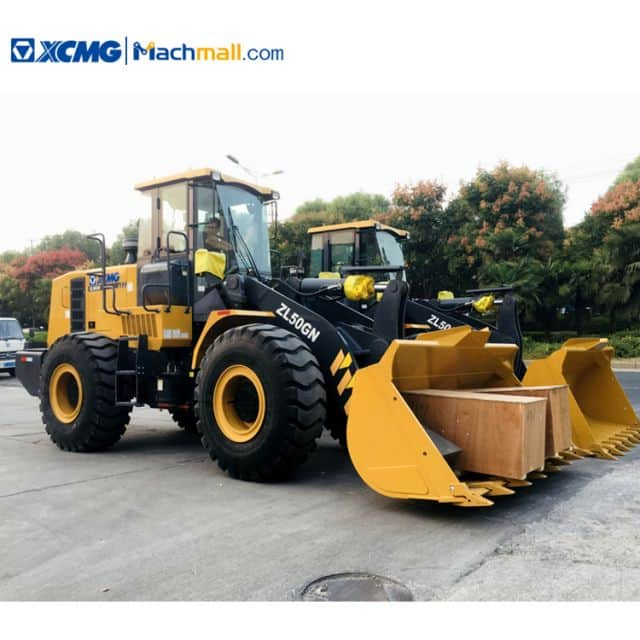 XCMG ZL50GN wheel loader 5 ton with catalog PDF for sale