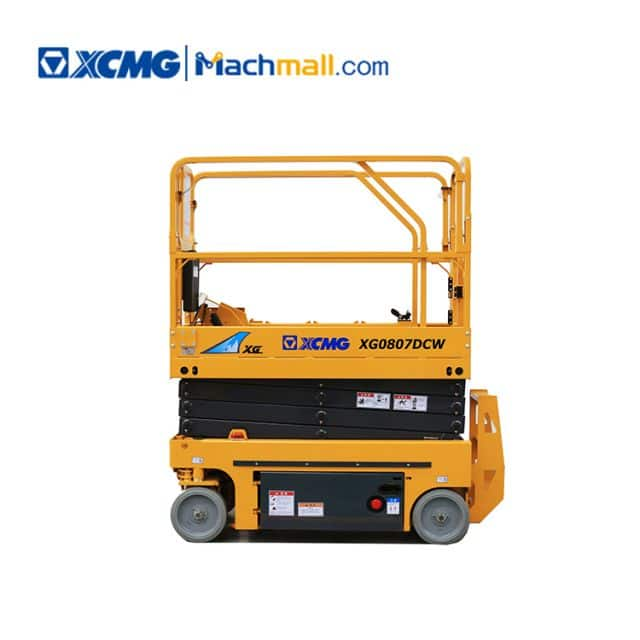 XCMG factory 8m XG0807DCW small electric scissor lift in philippines