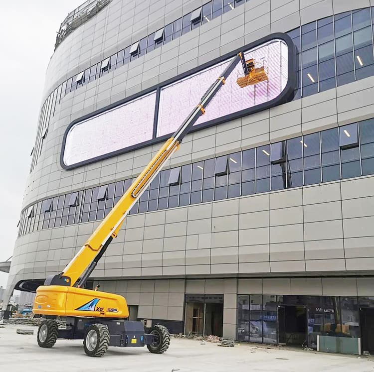 XCMG official 22m boom lift telescopic aerial work XGS22 for sale