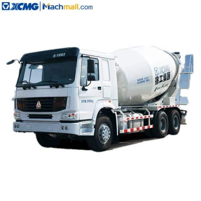 XCMG concrete machine mixer with SINOTRUK chassis XSC3311 price
