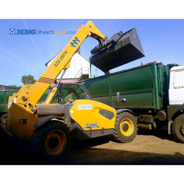 XCMG telescopic boom wheel loader for sale