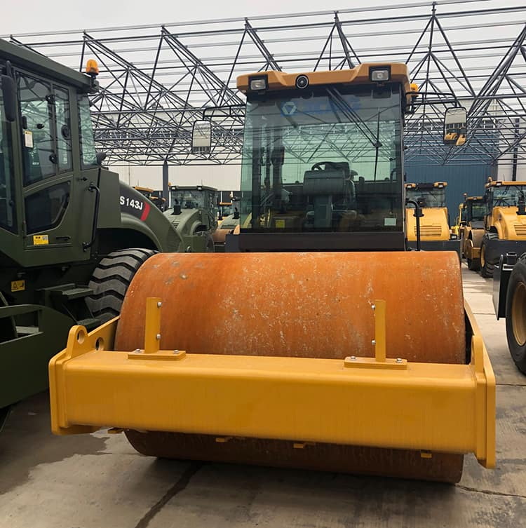 XCMG official XS113E 10 ton vibratory roller price