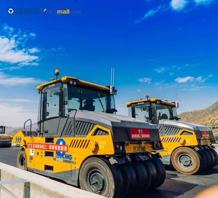 XCMG factory 30 ton pneumatic tyre road roller XP305S for sale