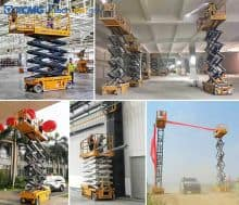 XCMG 10m Rated Loading 450kg motorcycle scissor lift XG1012HD price