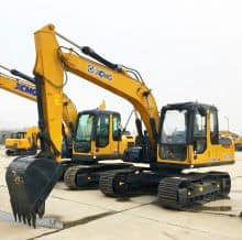 XCMG Official 13 Ton Escavator Machines XE135B Excavator For Sale