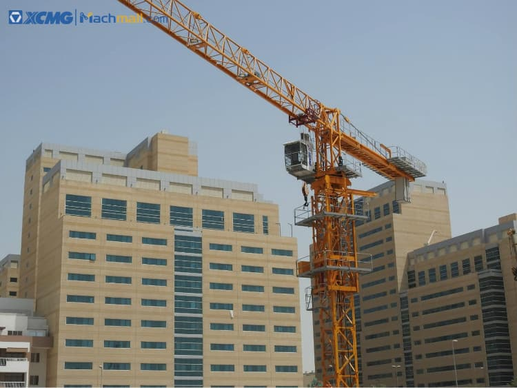 XCMG manufacturers XGT6515-10S 10 ton easy installation topless tower crane for sale