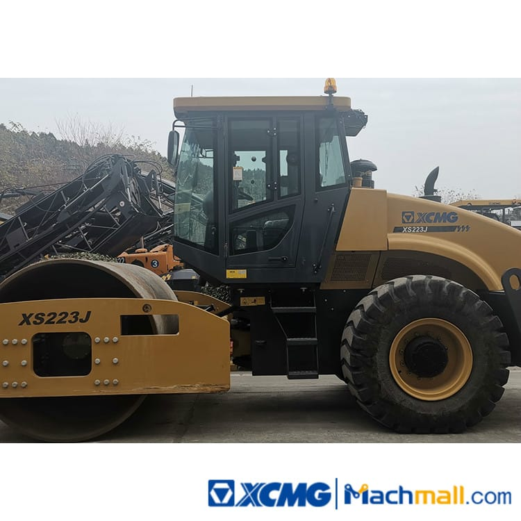 XCMG Used 22ton Vibratory Road Roller XS223J Road Compactor Price