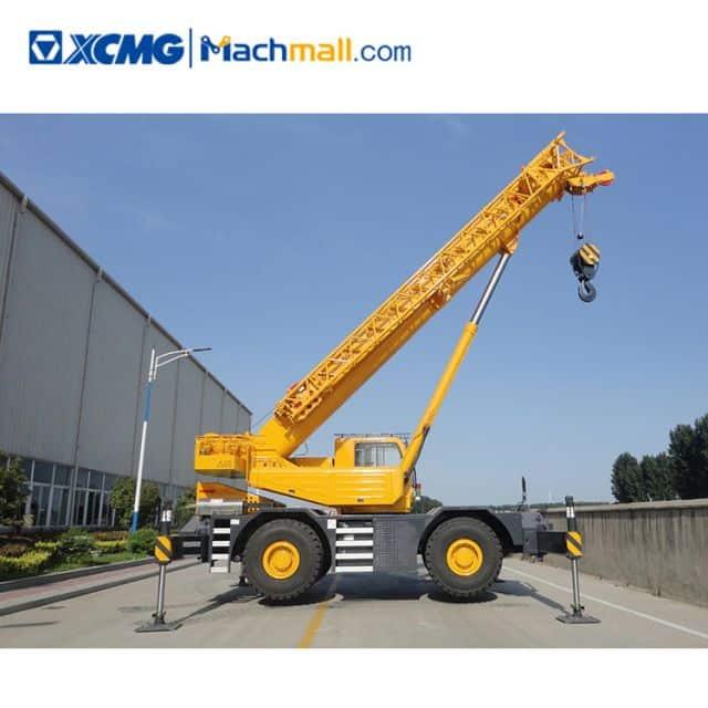 XCMG official 50 ton rough terrain cranes RT50 price