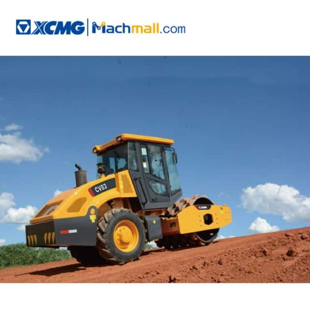 XCMG 8t CV83U vibratory compactor with Tier4F price