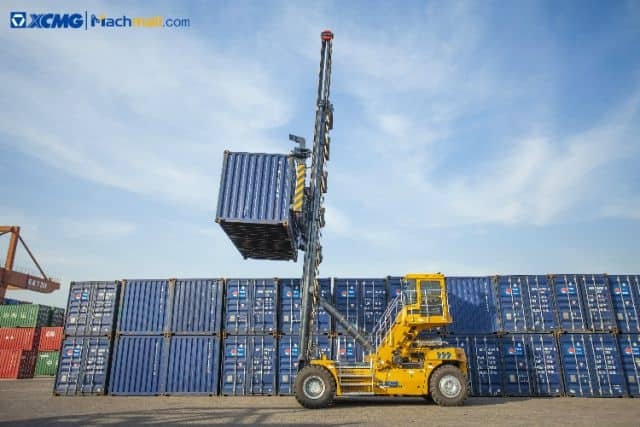 China XCMG Factory 9 Ton XCH908K Port Empty Container Handler In Stock