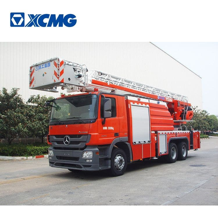 XCMG 32m fire truck YT32M1 turntable ladder ladder price