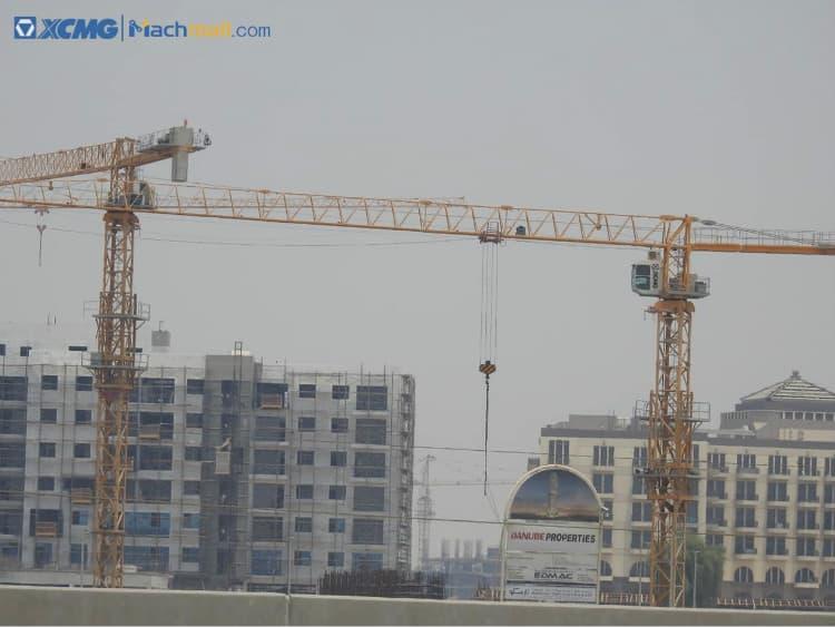 XCMG 20 ton flat top tower crane price