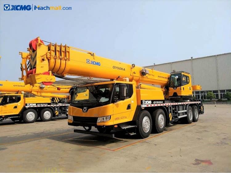 QY50K crane price | XCMG QY50K 50ton crane for sale