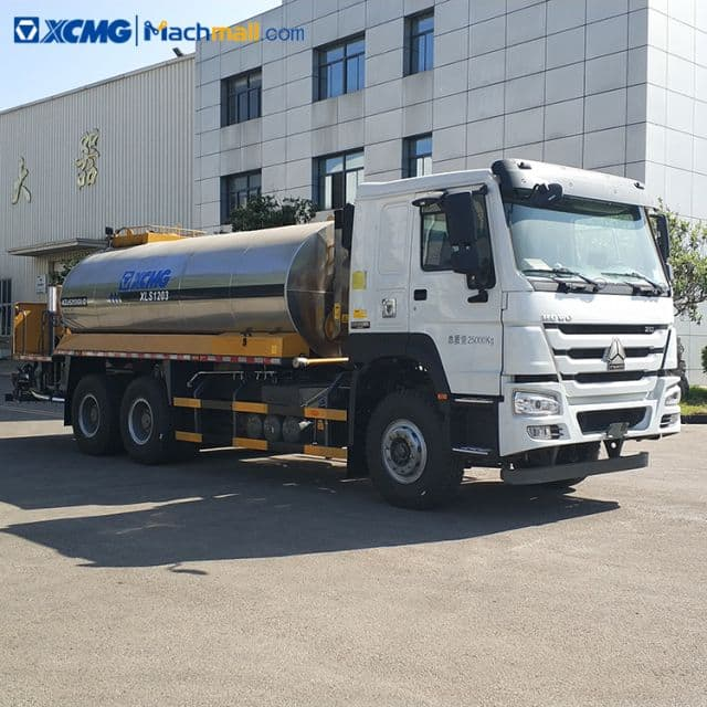 XCMG asphalt sprayer XLS1203 6m width road maintenance 12cbm capacity price