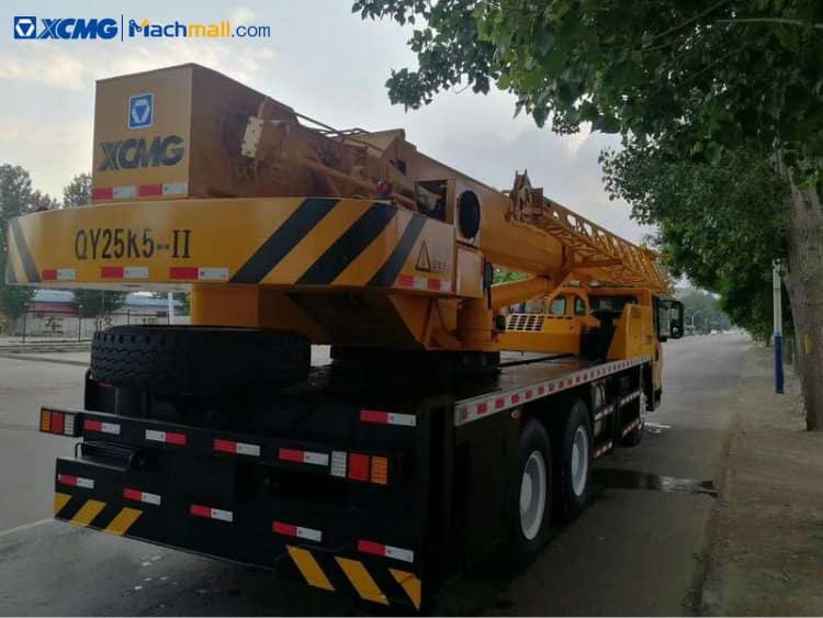 XCMG crane 25 tons 5 section boom 47m QY25K5-II price