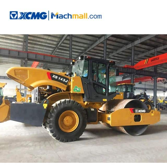 14 ton official XCMG road roller XS143J for sale