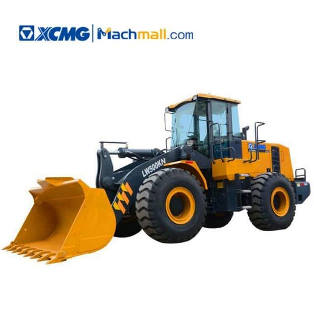 XCMG 5 ton compact loaders LW500KN catalog PDF
