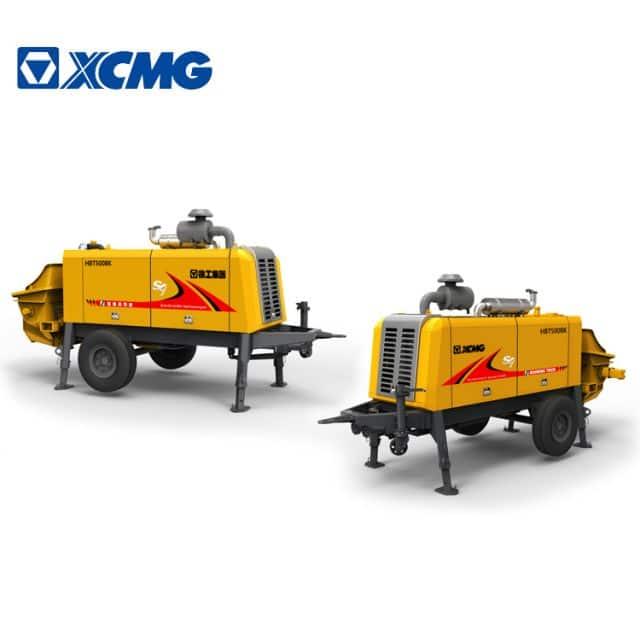 XCMG Official HBT5008K Brand New Cement Concrete Pump Machine