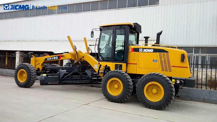 XCMG 180hp asphalt soil motor graders for road Construction GR180 for sale