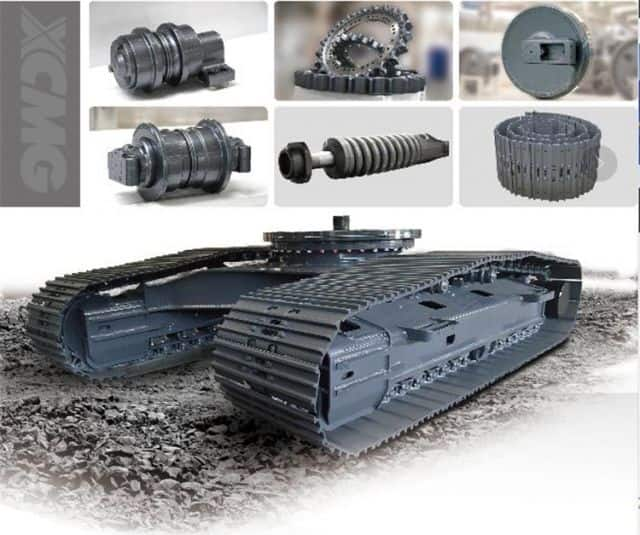 XCMG Excavator Accessories Track Shoes/Link Assy/Sprocket/Track Roller/Idler Wheel for Sale