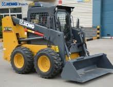 Skid steer loader for sale   XCMG mini skid steer loader XT740 price