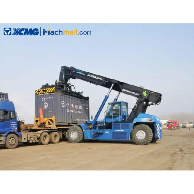 XCMG 45 ton electric reach stacker for container price
