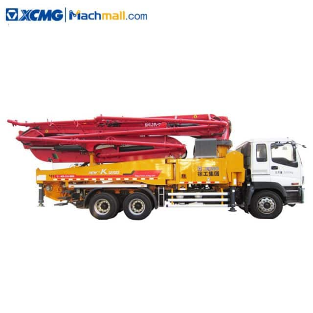 HB43K 43 meter XCMG truck concrete pump for sale in Philippines