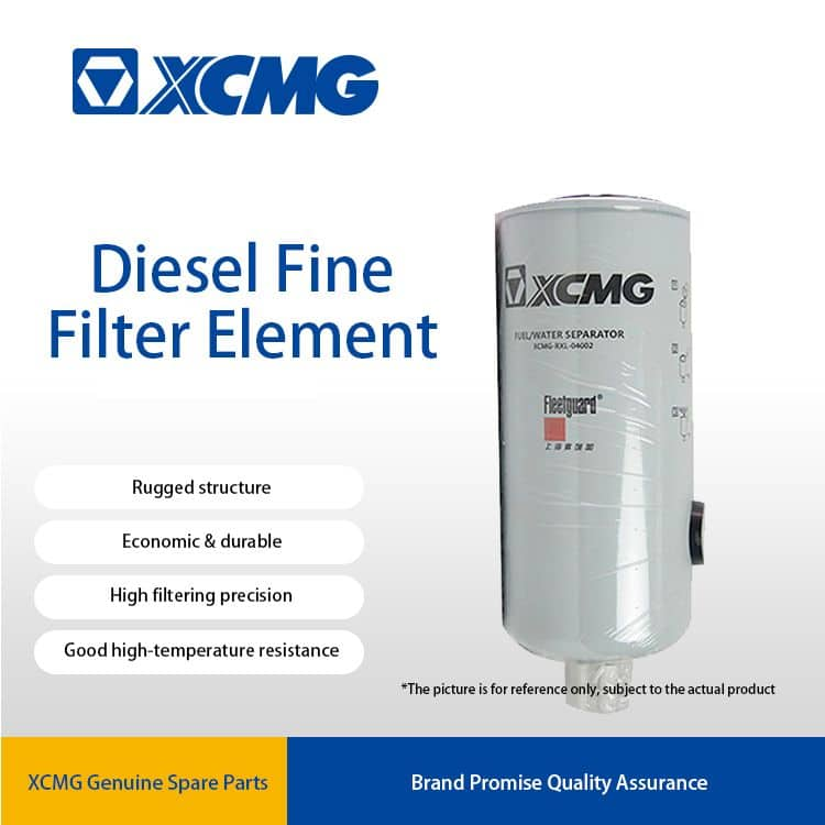 XCMG 332989 Fuel filter element (fine) 800105027