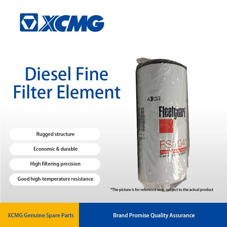 XCMG FS1041 Fuel fine filter element 800105252