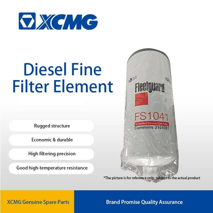 XCMG FS1007 Fuel fine filter element 800151001